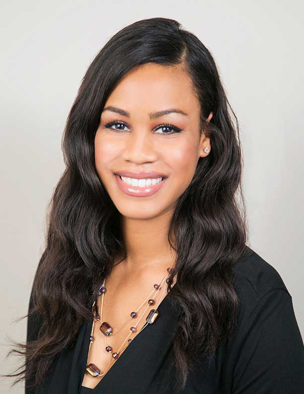 headshot of african american business woman Newport Beach